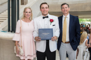 Graduating family gives back through Campaign